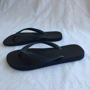 Navy Blue Havaianas Sandals Flip Flops
